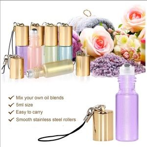*FREE GIFT 3+ BUNDLE* ROLLERBALL Mini Glass Bottle